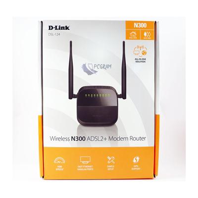 مودم روتر ADSL2+ DSL-124 DLINK